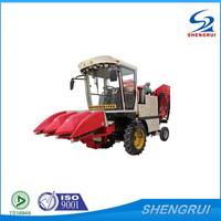 3 Rows Self-Propelled Corn Combine Harvester, foton combine harvester