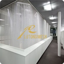 Hot sale Aluminum chain curtain room dividers for laboratory decorative