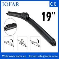 Favorable U-hook wiper blade, car wash machine, car wiper