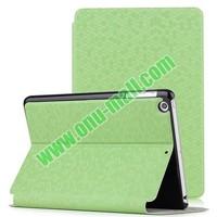 Diamond Pattern Side Flip Leather Case for iPad Mini Retina