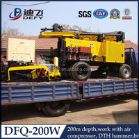 DFQ-200W used portable water well drilling rigs for sale
