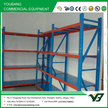 Hot sell high quality ligh duty 4 layer long span warehouse vertical racking systems, storage rack (YB-WR-C15)