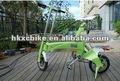 2012 caliente de la aleación de magnesio inteligente plegable bicicleta eléctrica para la venta