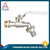 hot-sale Nickel plated Brass Bibcock/faucet/tap with Lock