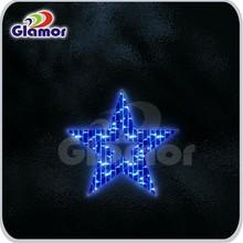 christmas lighted led star motif with CE GS CB SAA UL
