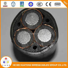 Medium valtage xlpe insulated power cable unable to bear external mechanical forces