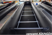 big inflatable boat 8m optional floor inflatable boat for sale