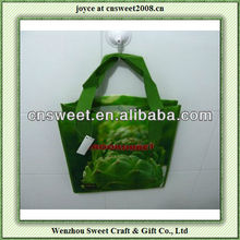 printed raw material for non woven bags for shopping