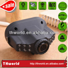 2014 new sale 720p car driving recorder player with hd camera 5.0MP lens night vision
