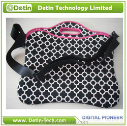 Soft neoprene material 2.5mm laptop bag for Ipad 2/3/4