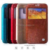 2015 newest model for samsung galaxy grand duos i9083 leather case