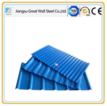 color coated steel tile / building material /metal roofing price