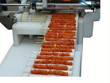 Almôndega de corda que faz a máquina/espeto de carne máquina de carne skewering máquina