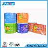 Custom adhesive e liquid labels from label printing company