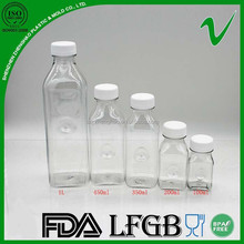 2015 new products square plastic bottle seal for health food