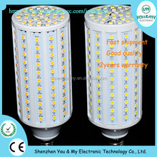 E27 220V 25W 132 LEDs 5050 SMD LED Corn Bulb Light White/Warm White LED Light Bulbs Wholesale