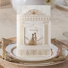 glitter hologram greeting handmade wedding cake card box for new year 2015