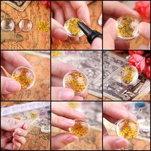 Clear Liquid Doming Epoxy Resin for Flower Pendant
