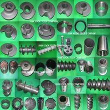 partes de la extrusora de tornillo de alimentación,Partes de la extrusora,partes de la extrusora de alimentación