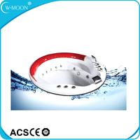 Round Hydro Massage Acrylic Plastic Bath Tub Prices
