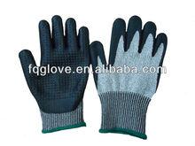 cut resistant nitrile dots gloves