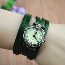 New fashion popular women's long leather watch vintage watch women dress watches