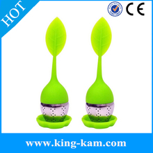 2015 Promotional Gift New Oem/Odm Hot Sale Silicone Tea Infuser Silicone With Stainless Steel Tea Infuser