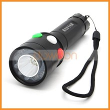Wholesale Red Green White Streamlight Led 3 Changing Multi Color Led Flashlight