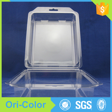 Disposable clear blister children's shoes packaging Trays