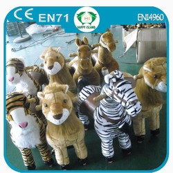 Hi CE supplier happy funny wooden rocking horse toy,popular pink horse toy