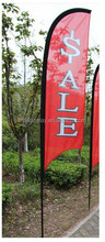 promotional tear drop aluminum flagpole