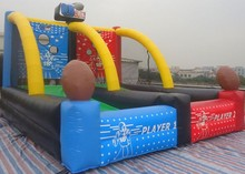 inflatable sport games basketball shoot games for sale