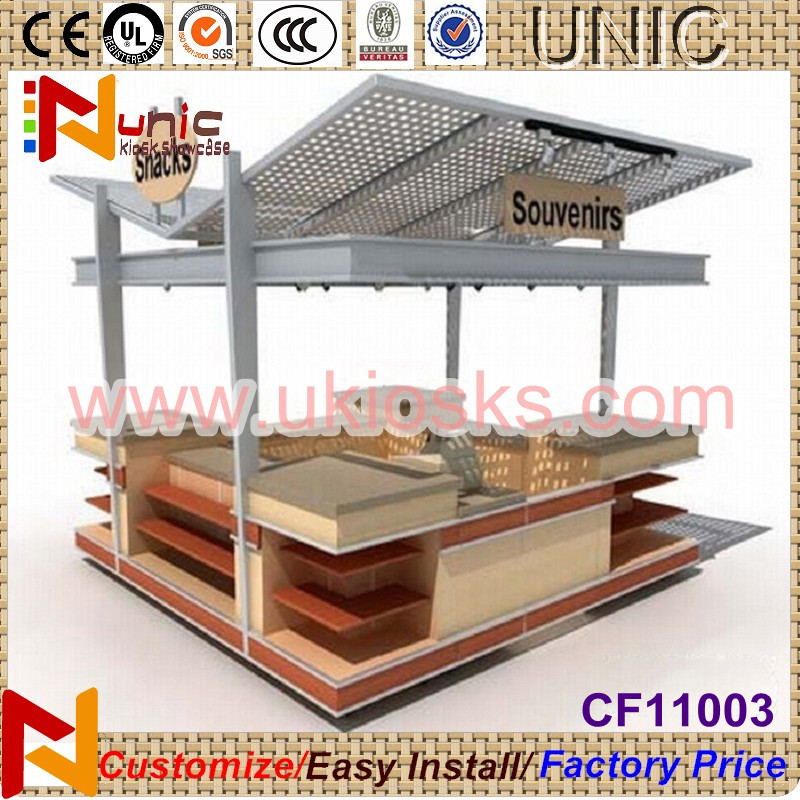 3x2m outdoor kiosk for food outdoor booth design from for Garden kiosk designs