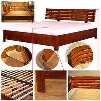 Top china furniture Convenient & unique design 1.5M wooden double beds