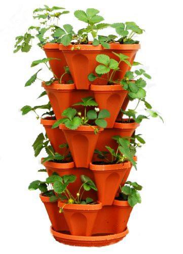 en gros pas cher de jardin empilable pot de fleur pots. Black Bedroom Furniture Sets. Home Design Ideas