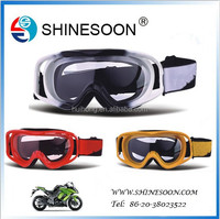 2015 Good quality low price soft TPU motorcycle and snow goggles