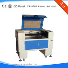 easy operation and hot sale laser machine 9060 acrylic and glass co2 laser cutting machine 0904
