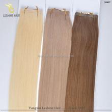 Fashion 2015 Wholesale Alibaba Buy Direct Manufacture Good Price 100% virgin human hair blue ribbon hair