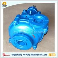 Abrasion resistant iron ore slurry stone trash pumps