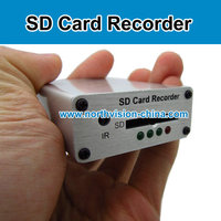 1 channel HD D1 real time sd card mobile mini dvr with motion detection, schedule recording