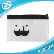 2015 PVC slider bag/ China PVC bag/ziplock pvc pen bag