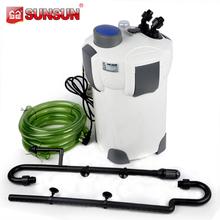 SUNSUN 1400L/h UK 310 Gallon/h ( HW-303B ) with UV Sterilizer Aquarium Fish Tank Outside Filter