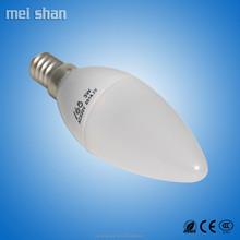 new design 3W long lifetime tansparent plastic body lamp LED energy lighting