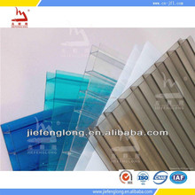 bayer plastic raw materials polycarbonate hollow sheet for bathroom decoration