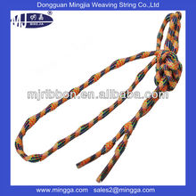 custom round elastic shoelaces with transparent tips for wholesale