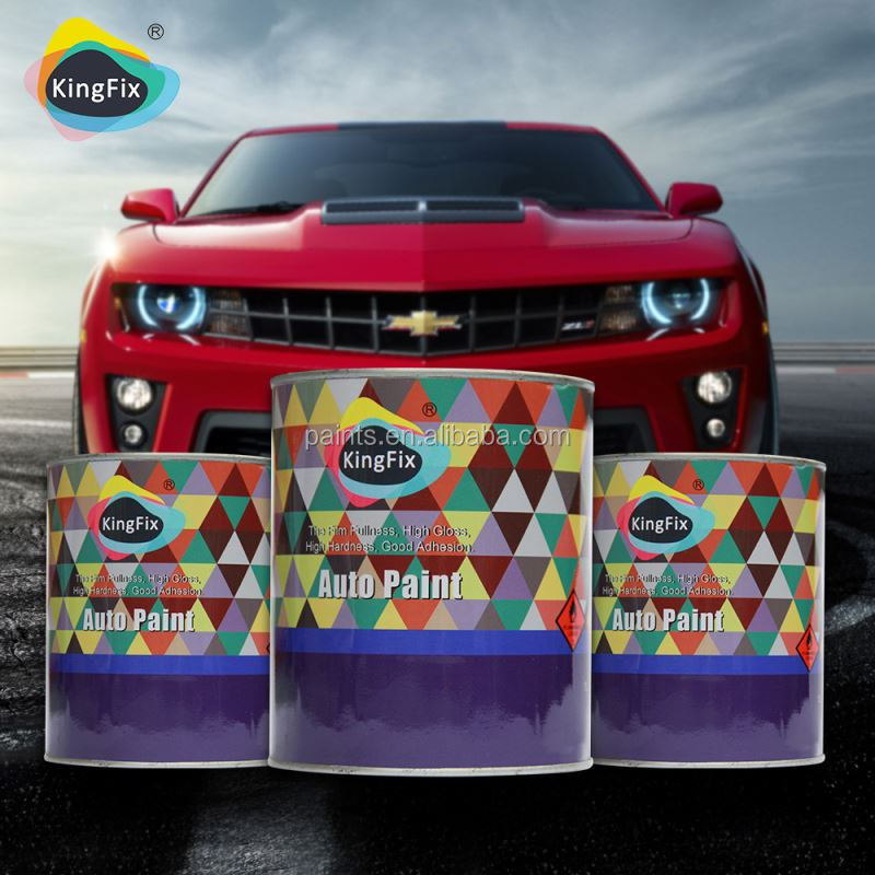 Kingfix brand high performance automotive paint supplies for Automotive paint suppliers