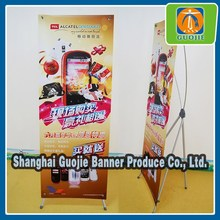 80*180 high quality x banner stand , pvc flex banner , roll up stand