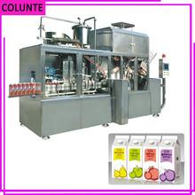 Henan Colunte KAT-1500 caixa de suco de máquina de embalagem automática cheia venda quente