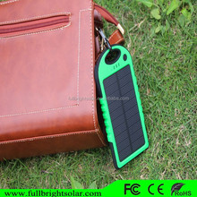 Mobile solar Battery Charger Backup 5000mAh