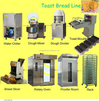 oast bread,philippines bread line Big capacity Steamed bun toast bread Moulder machine